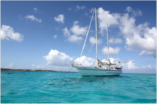 Photo of our yacht